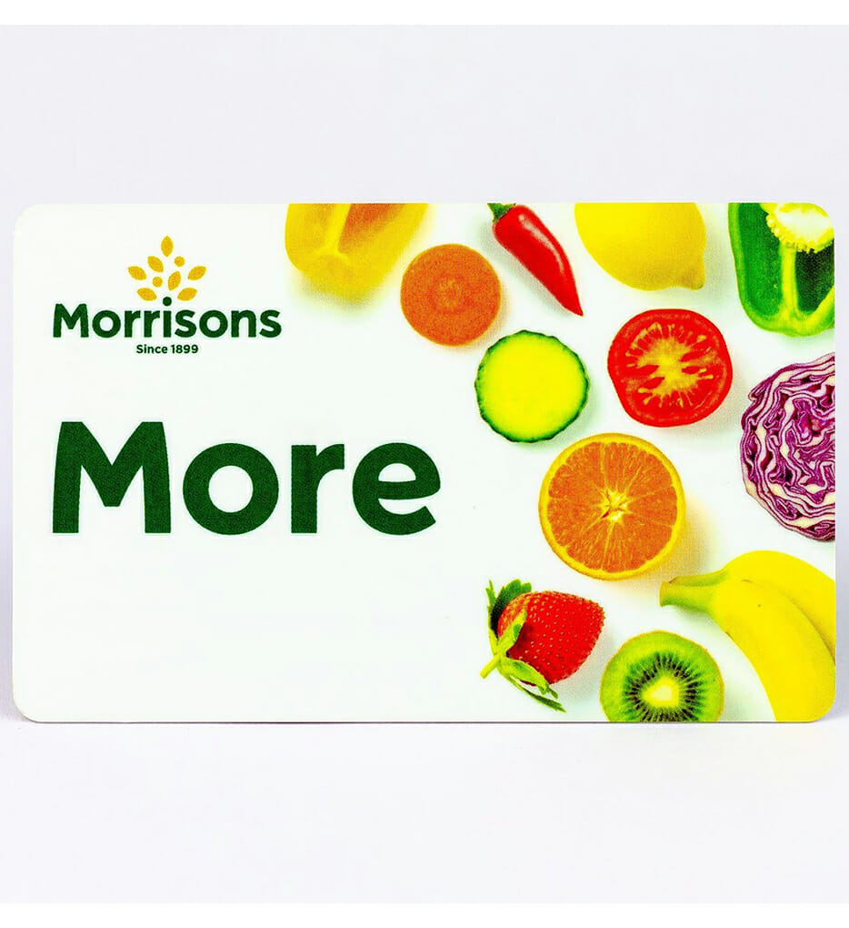 Morrisons More rewards